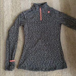 Athletic wear-  quarter zip top